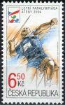 (2004) č. 406 ** - Česká republika - Letní paraolympiáda v Aténách
