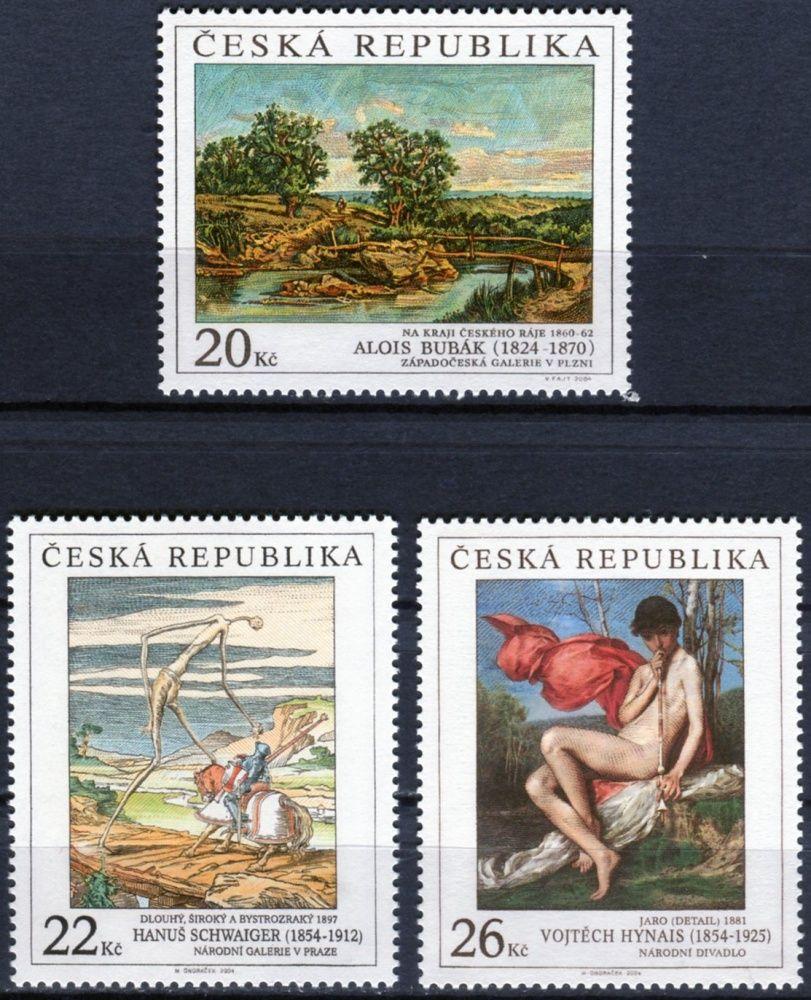 (2004) č. 417 - 419 ** - Česká republika - Umění 2004