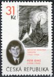 Zobrazit detail - (2005) č. 422 ** - Česká republika - Petr Ginz: Měsíční krajina