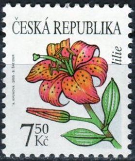 (2005) č. 423 ** - Česká republika - Krása květů Lilie