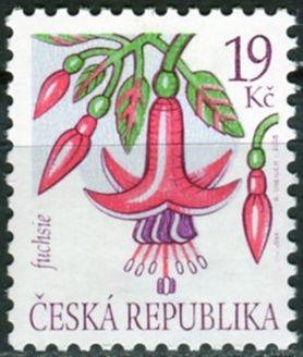 (2005) č. 428 ** - Česká republika - Krása květů Fuchsie