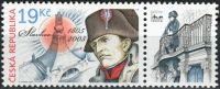 Zobrazit detail - (2005) č. 434 ** - Česká republika - 200. výročí bitvy u Slavkova