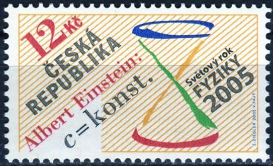 (2005) č. 437 ** - Česká republika - Světový rok fyziky