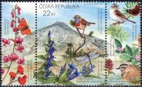 Zobrazit detail - (2005) č. 442 ** - Česká republika - Chráněná fauna a flóra Krkonoš
