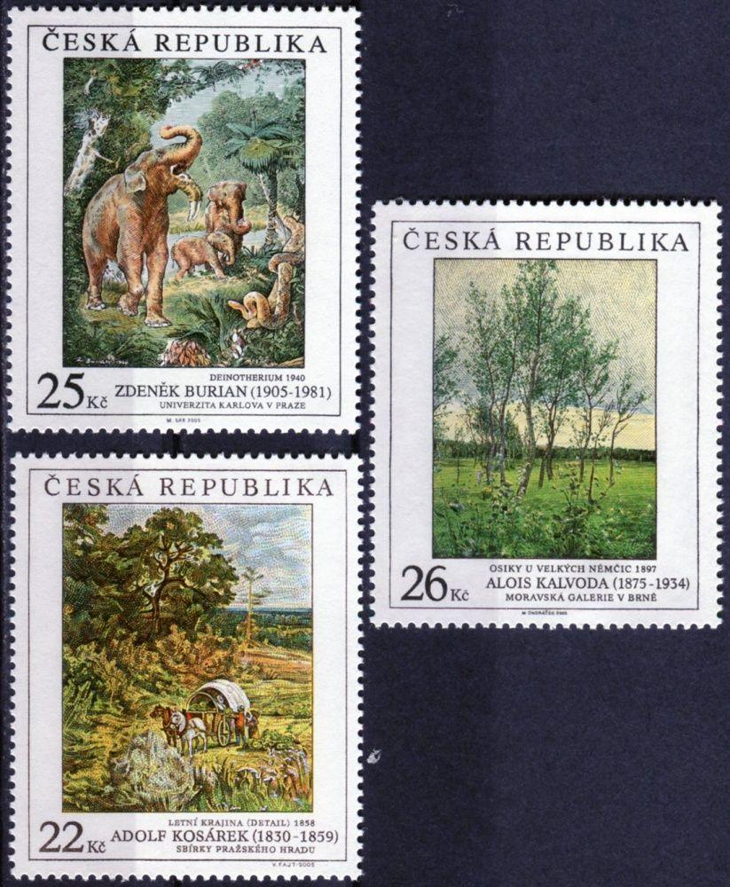 (2005) č. 452 - 454 ** - Česká republika - Umění 2005