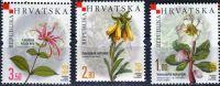 (2008) MiNr. 840 - 842 **- Chorvatsko - Endemické rostliny