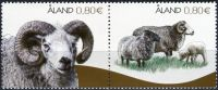 (2014) MiNr. 400 - 401 ** - Aland - Ålandské ovce