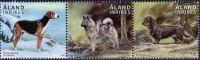 (2015) MiNr. 410 - 412 ** - Aland - lovečtí psi
