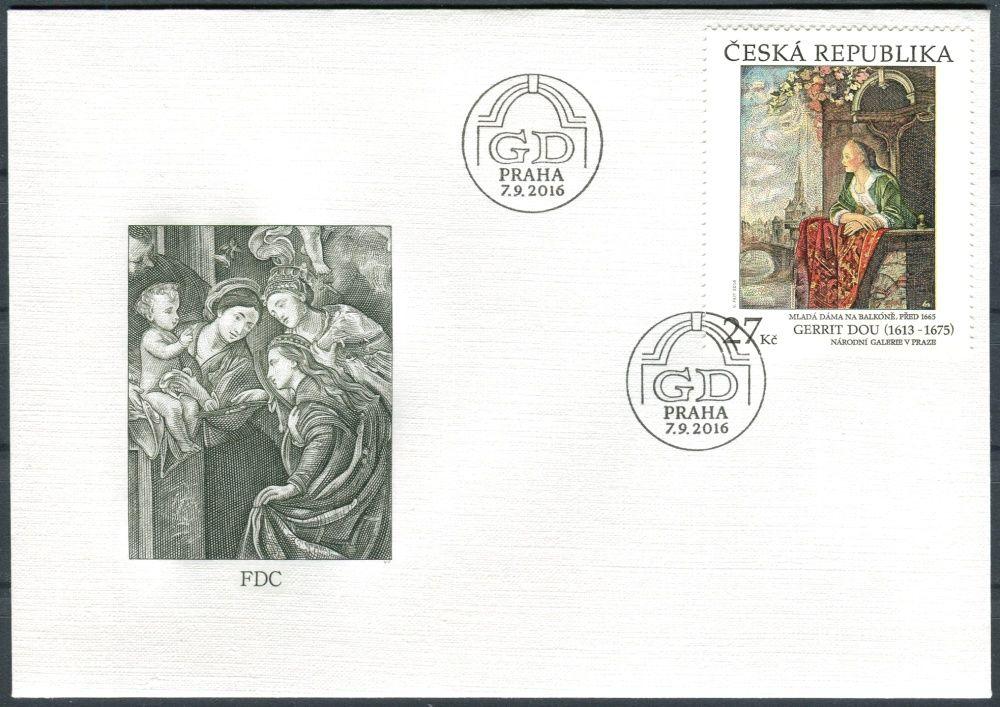 Česká pošta (2016) FDC 899 - Gerrit Dou