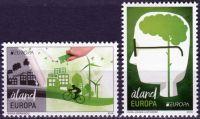 (2016) MiNr. 425 - 426 ** - Aland - Europa: Šetrnost vůči životnímu prostředí