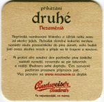 Tschechischen Budweis - Budweiser - Zweites Gebot nicht ändern - Konnte nicht vermeiden