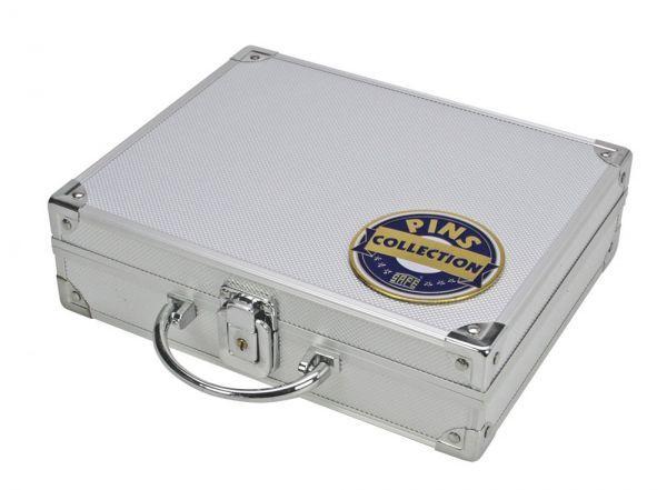 Safe Hliníkový kufřík na odznaky a vyznamenání + 3 plata