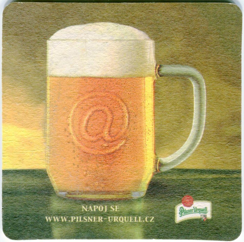 Plzeň - Pilsner Urquell - Napoj se