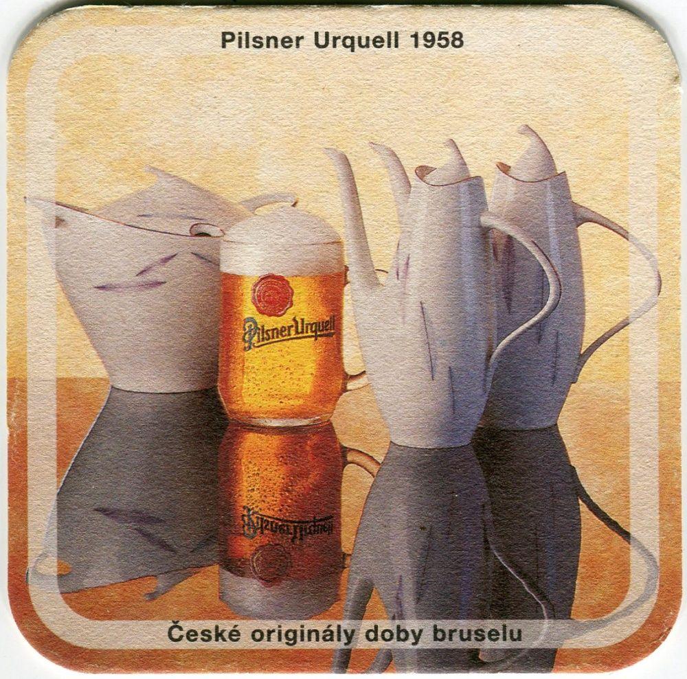 Plzeň - Pilsner Urquell - Pilsner Urquell 1958 - České originály doby bruselu