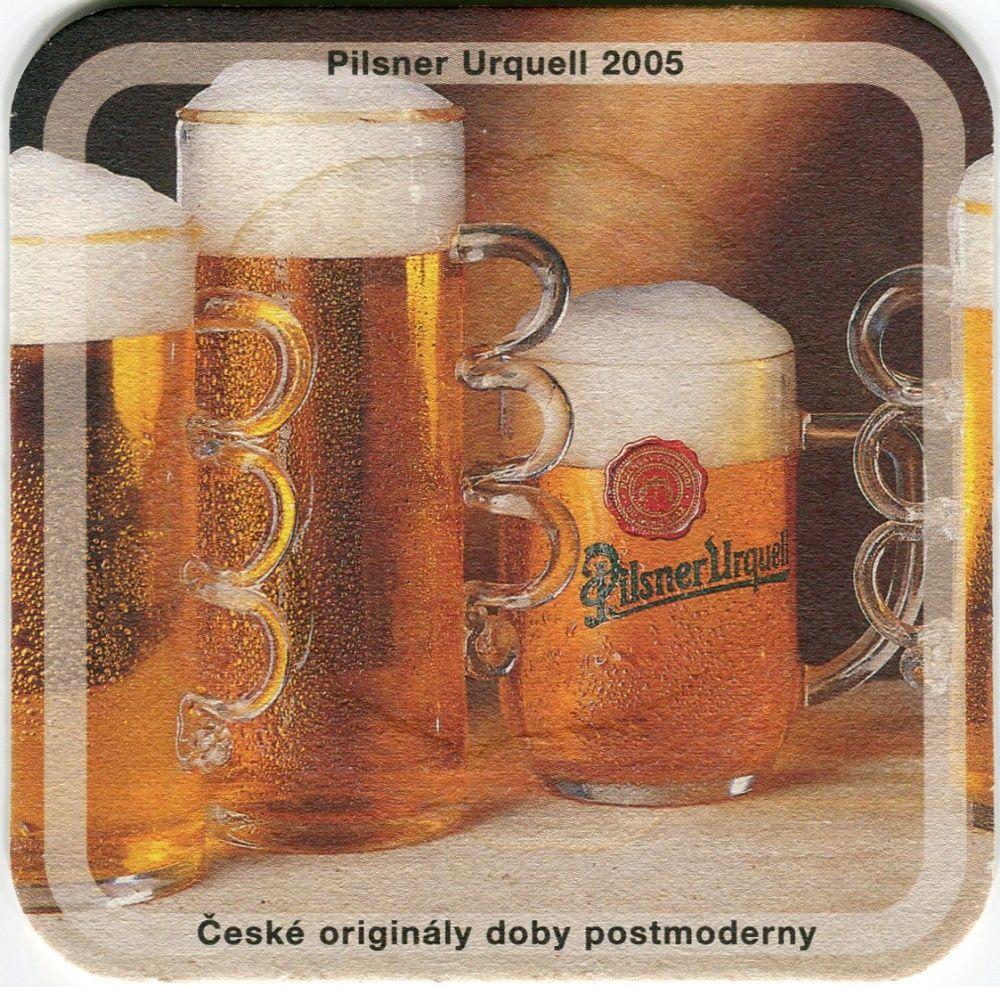 Plzeň - Pilsner Urquell - Pilsner Urquell 2005 - České originály doby postmoderny