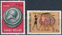 (1969) MiNr. 1002 - 1003 ** - Řecko - 20 let Organizace severoatlantické smlouvy (NATO)
