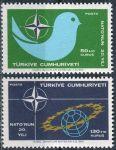 (1969) MiNr. 2120 - 2121 ** - Turecko - 20 let Organizace severoatlantické smlouvy (NATO)