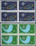 (1969) MiNr. 2120 - 2121 ** - Turecko - 4-bl - 20 let Organizace severoatlantické smlouvy (NATO)
