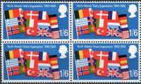 (1969) MiNr. 514 ** - Velká Británie - 4-bl - výročí