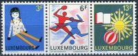 """(1969) MiNr. 785 - 787 ** - Lucembursko - 3-bl - Výstava poštovních známek """"Juventus 1969"""""""