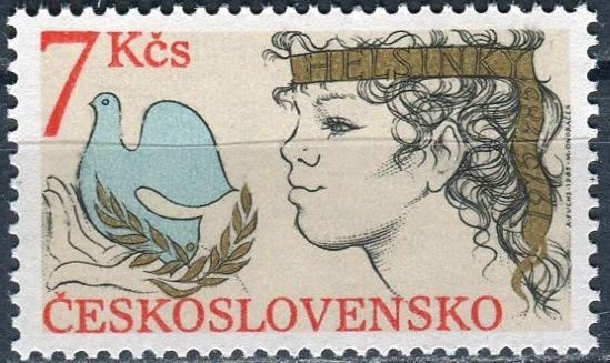 (1985) č. 2704 ** - ČSSR - 10. výročí Helsinské federace