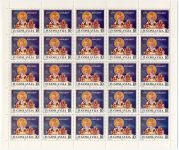 (1986) MiNr. 2154 ** - Jugoslávie - Tiskový list - 1100. výročí příchodu svatého Klementa