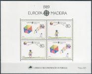 (1989) MiNr. 125 I - 126 ** - Portugalsko Madeira - BLOCK 10 - pouštění draka