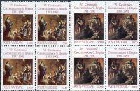 (1991) MiNr. 1038 - 1039 ** - Vatikán - 4-bl - 600. výročí svatořečení