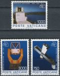 (1991) MiNr. 1040 - 1042 ** - Vatikán - 100 let Vatikánská observatoř