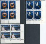 (1991) MiNr. 1040 - 1042 ** - Vatikán - 4-bl - 100 let Vatikánská observatoř