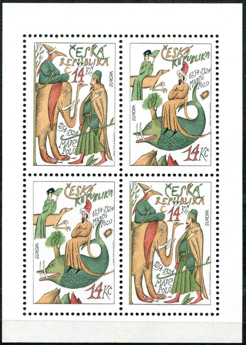 (1994) PL 36-37 ** - 14 Kč - ČR -  EUROPA: Marco Polo