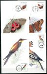(1999) CM 25-28 (209-212) - Ptáci a motýli