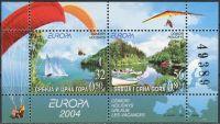 (2004) MiNr. 3198 - 3199 ** - Jugoslawien -  BLOCK 57 - Segeln, Paragliding und Rudern