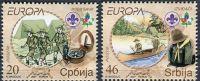 (2007) MiNr. 194 - 195 ** - Srbsko - Europa: Skaut