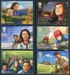 (2007) MiNr. 2552 - 2557 ** - Velká Británie - 100 let Průzkum; Europa: Skaut