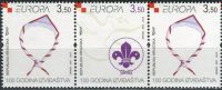 (2007) MiNr. 805 - 806 ** - Kroatien- 3-er - Europa: Pfadfinder