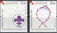 (2007) MiNr. 805 - 806 **- Chorvatsko - Europa: Skaut