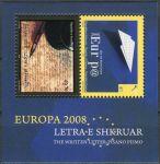(2008) MiNr. 104 - 105 ** - Kosovo - BLOCK 9 - Europa: Dopis