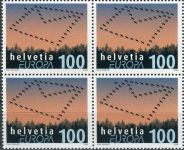 (2008) MiNr. 2065 ** - Švýcarsko - 4-bl - Europa: Dopis