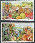 (2014) MiNr. 1254 - 1255 ** - Fr. Polynesie - Mezinárodní rok rodinných farem