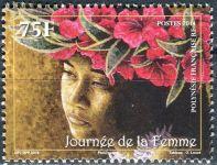 (2014) MiNr. 1256 ** - Fr. Polynesie - mezinárodní den žen
