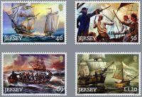 (2014) MiNr. 1858 - 1861 ** - Jersey - Piráti a bukanýři v 18. století