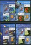 (2014) MiNr. 4716 - 4723 ** - 0,35+0,45+0,55+0,65+1,1+1,2+1,3+1,4 Zl - Polsko - 4-bl - Národní výstava poštovních známek VARŠAVA 2014: korálových ryb - s kupony