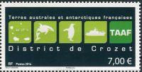 (2014) MiNr. 857 ** - Francouzská Antarktida - Crozetovy ostrovy