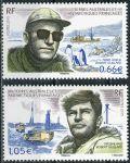 (2015) MiNr. 874 - 875 ** - Francouzská Antarktida - 2. výročí úmrtí Robert Gaillard