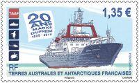 (2015) MiNr.  897 ** - € 1,35,- Francouzská Antarktida - Marion Dufresne
