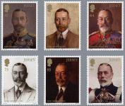 (2016) MiNr. 2002 - 2007 ** - Jersey - 80. výročí úmrtí krále Jiřího V.