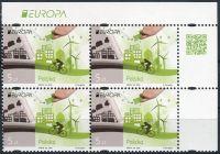 (2016) MiNr. 4831 ** - 4 x 5 Zl - Polsko - 4-bl - Europa: Šetrnost vůči životnímu prostředí