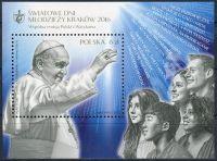 (2016) MiNr. 4833 ** - 6 Zl - Polsko - BLOCK 249 - papež František (* 1936)