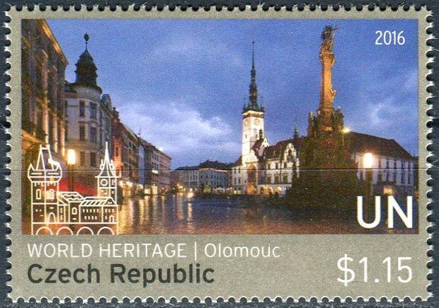 (2016) MiNr.  ** - OSN New York - 2016 Světové dědictví - Česká republika - Olomouc